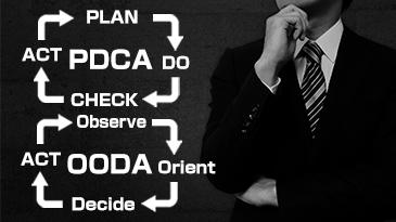 OODAとPDCAの違いとは?使い分けと組み合わせで有効活用しよう!